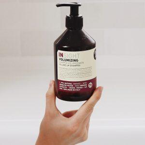 szampon dodający objętości, szampon do włosów dodający objętości, szampon do cienkich włosów, szampon do cienkich włosów insight, szampon dodający objętości insight volume up, szampon insight volume up