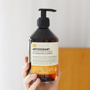 szampon odmładzający, odmładzający szampon do włosów, szampon z antyoksydantami, szampon insight antioxidant, szampon do włosów z antyoksydantami