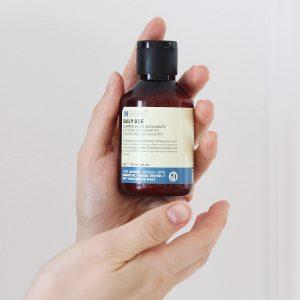 suchy szampon do włosów, naturalny suchy szampon
