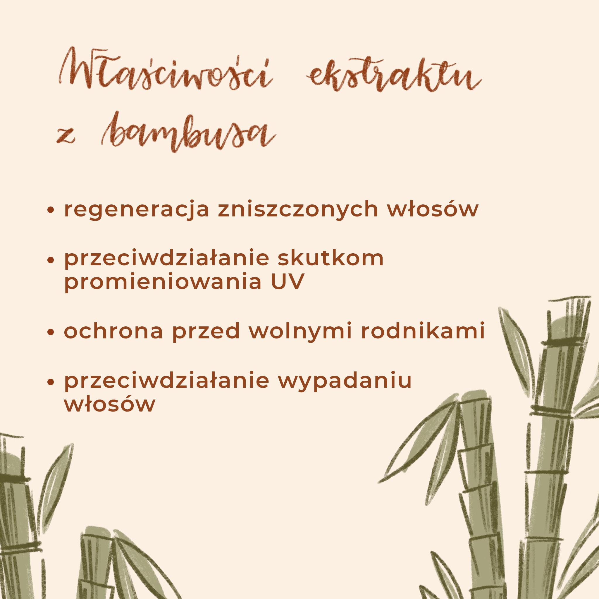 Bambus na włosy